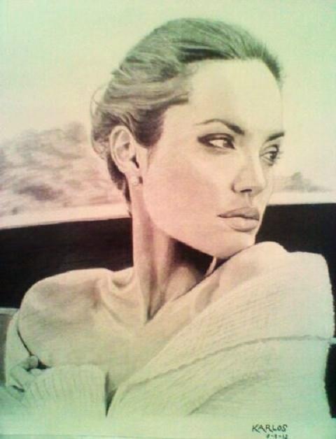 Angelina Jolie par Karlos1203